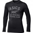 TEE SHIRT ASICS LS LARGE LOGO TTE PERFORMANCE BLACK AW2014