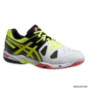 ASICS GEL GAME 5 ONYX/FLASH YELLOW/FLASH ORANGE