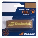NATURAL GRIP CUIR BABOLAT MARRON
